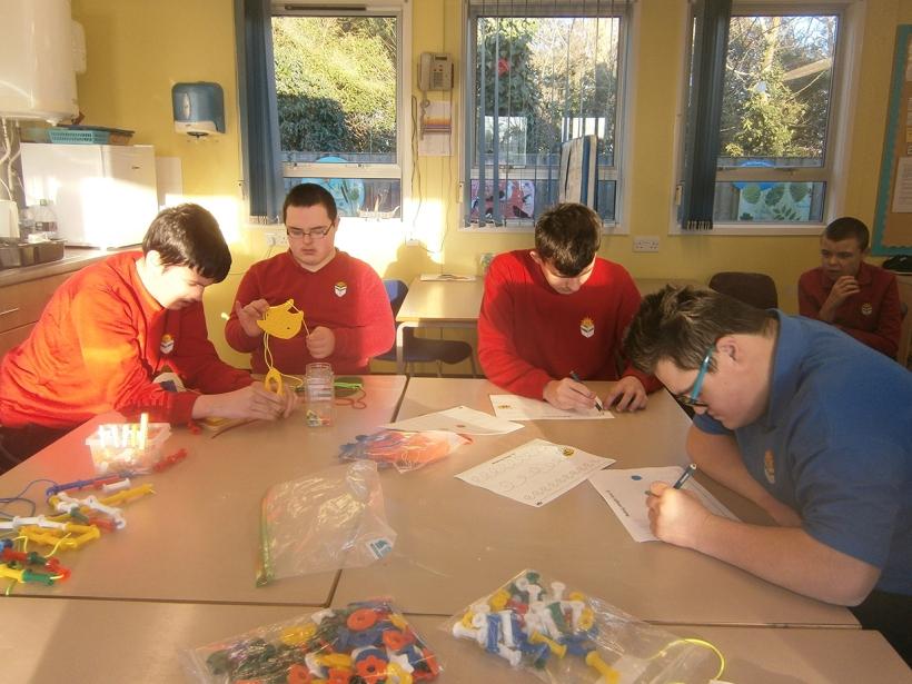 Pupils from Lexden Springs School